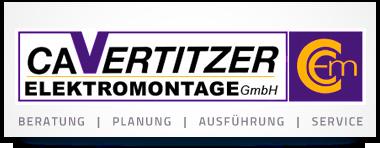 Logo von Cavertitzer Elektromontage GmbH